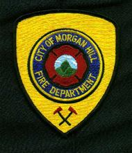 Original  Morgan Hill Fire Department Patch