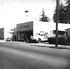 The original Morgan Hill Fire station 1930 to 1974