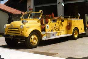 1956 Dodge Van Pelt Fire Engine